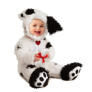 KIDS COSTUME: Plush Dalmation costume