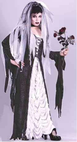 ADULT COSTUME: Bride of Darkness