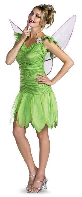 ADULT COSTUMES:  Tinkerbell Disney Costume