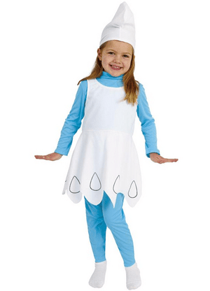 ADULT COSTUMES:  Smurfette costume