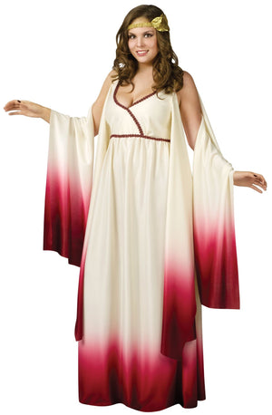 ADULT COSTUMES:  Venus Goddess of Love Plus Costume