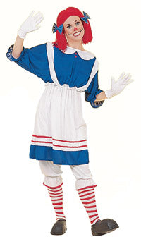ADULT COSTUME: Rag Doll Costume