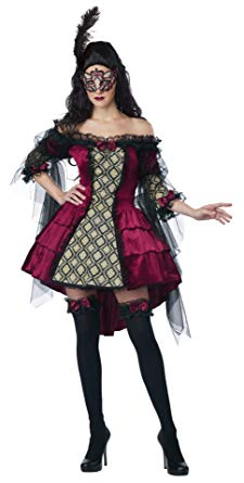 ADULT COSTUME: Mysterious Masquerade