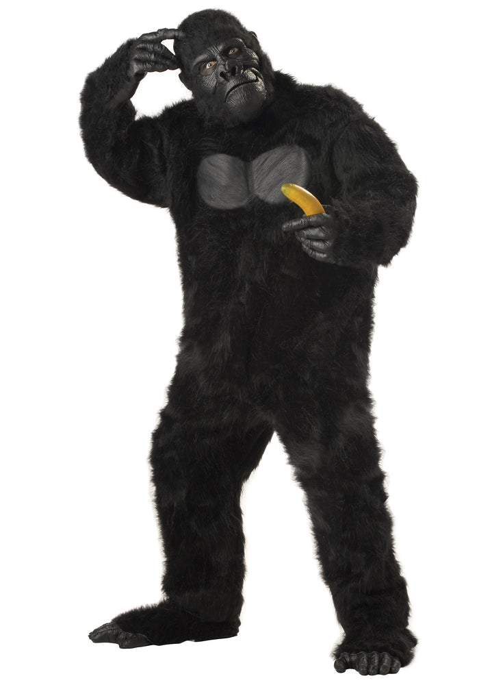 ADULT COSTUME: Gorilla Black