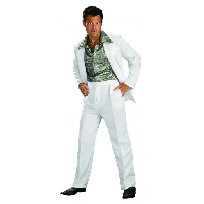 ADULT COSTUME: Disco King Costume