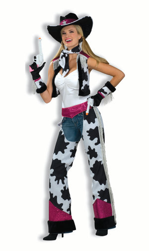 ADULT COSTUME: Glamour Cowgirl