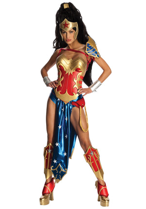 ADULT COSTUMES:  Wonder Woman Deluxe Costume