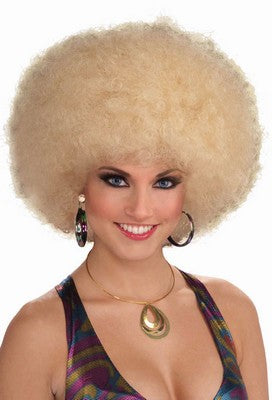 WIG: Afro BLonde