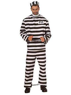 ADULT COSTUME: Prisoner costume