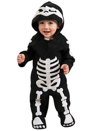 KIDS COSTUME: Skeleton Infant Costume