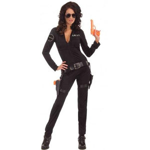 ADULT COSTUMES:  Swat Jumpsuit Costume
