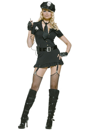 ADULT COSTUME: Dirty Cop Female Costume