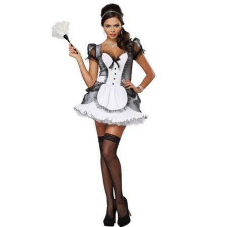 ADULT COSTUME: French Maid Small