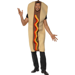 ADULT COSTUME: Giant Hot Dog Costume