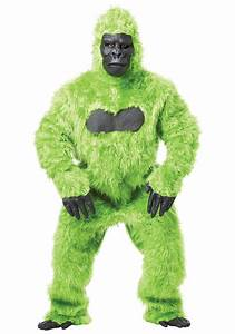 ADULT COSTUME: Gorilla Green