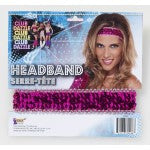 ACCESS: Headband, Disco Sequin pink