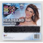 ACCESS: Headband, Disco Sequin black