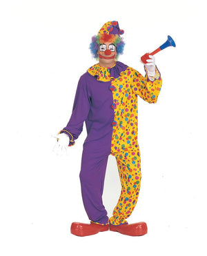 ADULT COSTUMES:  Smiley the Clown Costume