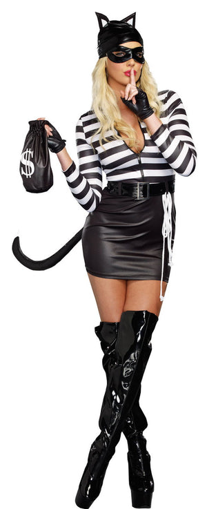 ADULT COSTUME: Cat Burglar Costume