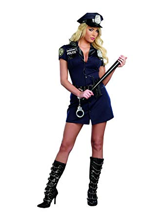 ADULT COSTUME: Officer Randi Police Uniform