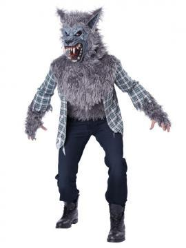 KIDS COSTUME: Grey Werewolf Costume