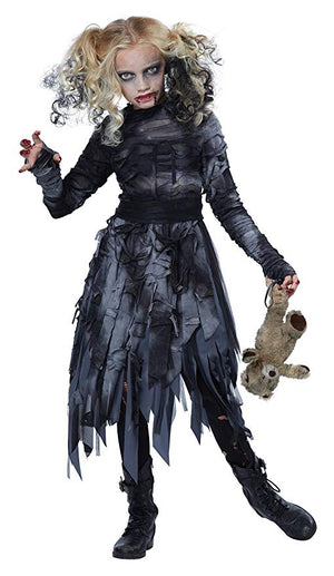 KIDS COSTUME: Zombie Girl costume