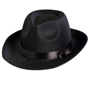 COSTUME RENTAL - Z30 Black Godfather Hat Rental