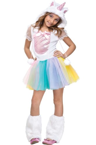 KIDS COSTUME: Vivid Unicorn toddler 3-4