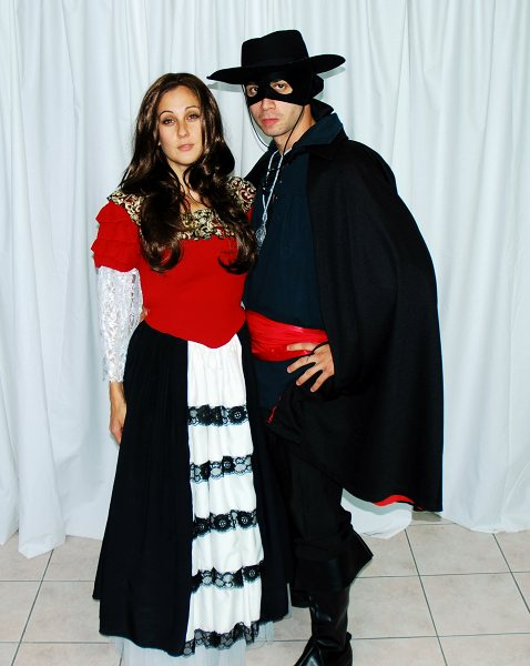 COSTUME RENTAL - I17 Elena Dress from Zorro