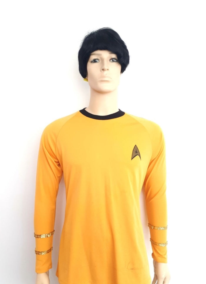 COSTUME RENTAL - E40 Star Trek Shirt (gold)
