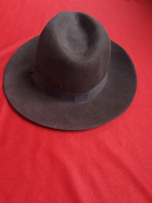 HAT:  Brown indiana jones hat