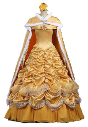 COSTUME RENTAL - D5b Beautiful Belle  4 pcs