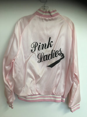 COSTUME RENTAL - J50 1950's Pink Lady Jacket Satin