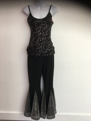 COSTUME RENTAL - X249 Tank, Sequin Black