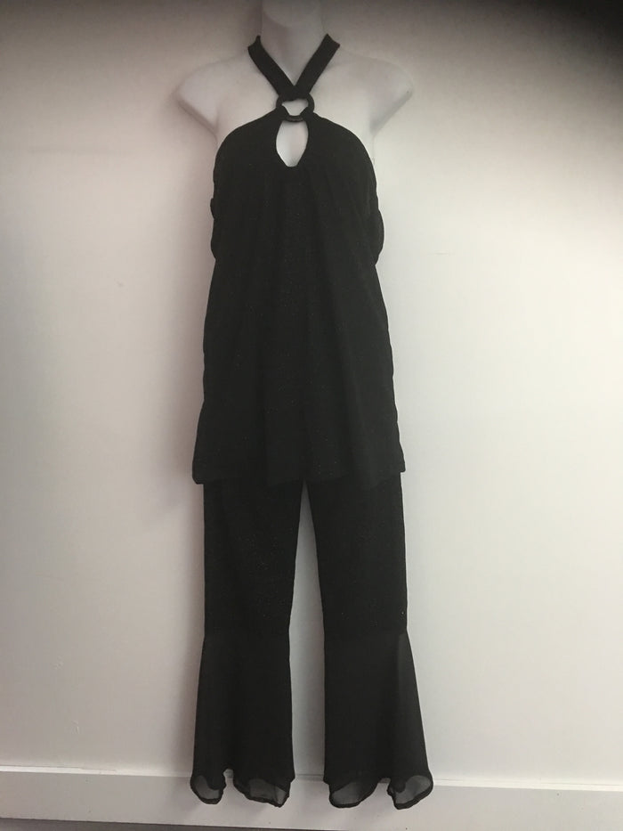 COSTUME RENTAL - X265 Boogie Nights Black Shimmer Outfit