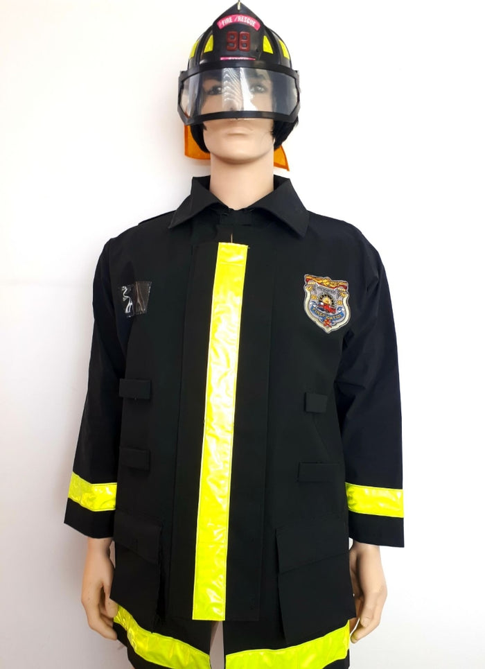 COSTUME RENTAL - O26 FIRE RESCUE . 2PCS