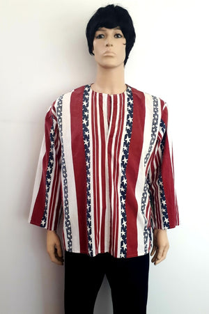 COSTUME RENTAL - X97 1960's hippie shirt