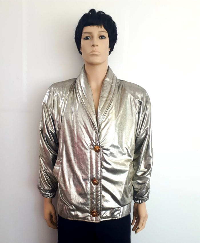COSTUME RENTAL - Y201 1980's Jacket Gold