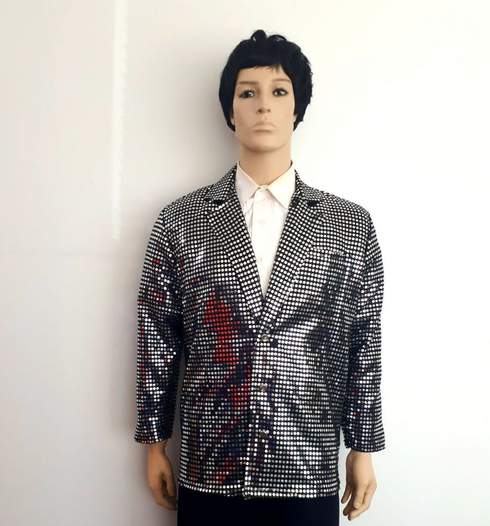 COSTUME RENTAL - X75  Disco Jacket, Sequin L
