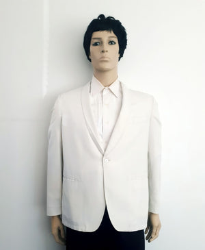 COSTUME RENTAL - Y204 1980's Jacket/Blazer, White