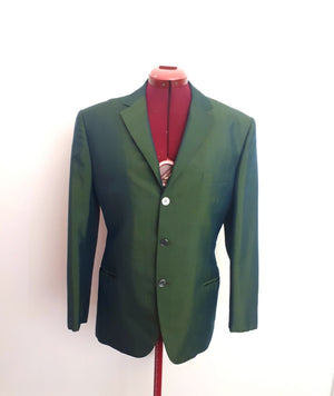 COSTUME RENTAL - X56 1960's green jacket