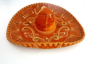 COSTUME RENTAL - Z18 - sombrero, orange