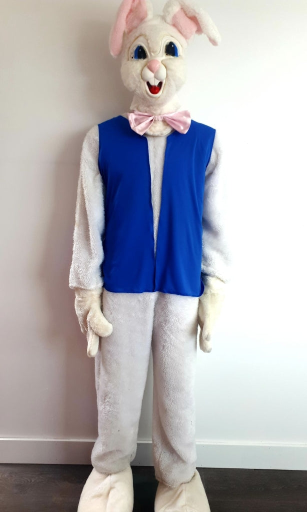 COSTUME RENTAL - R157 White Bunny costume