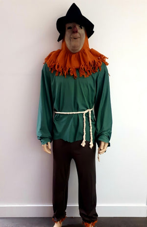 COSTUME RENTAL - E81 Scarecrow from Oz