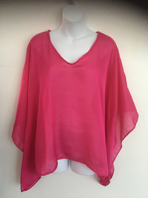 SHAPES - Pretty in Pink Kaftan Blouse