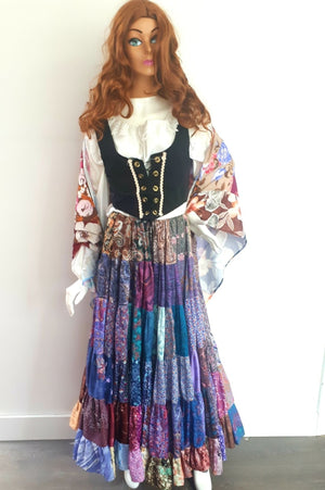 COSTUME RENTAL - G11 Gypsy/Pirate (x large)