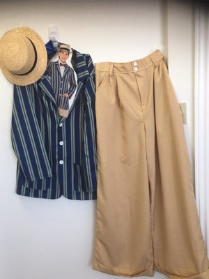 COSTUME RENTAL - J27 1920's Gatsby suit