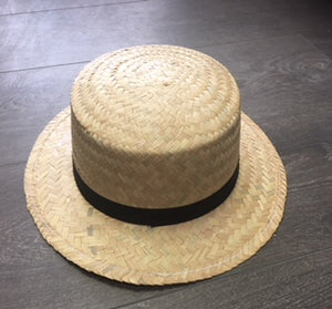 HAT : Straw Sailor/Gatsby Hat