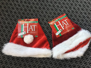 HAT: XMAS -Plush Regency Santa Hat