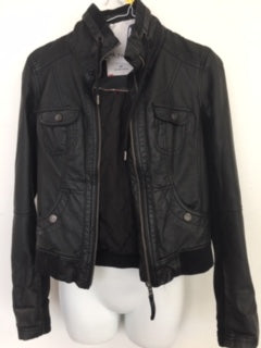 COSTUME RENTAL - Y205 1980's Leather Jacket Rental
